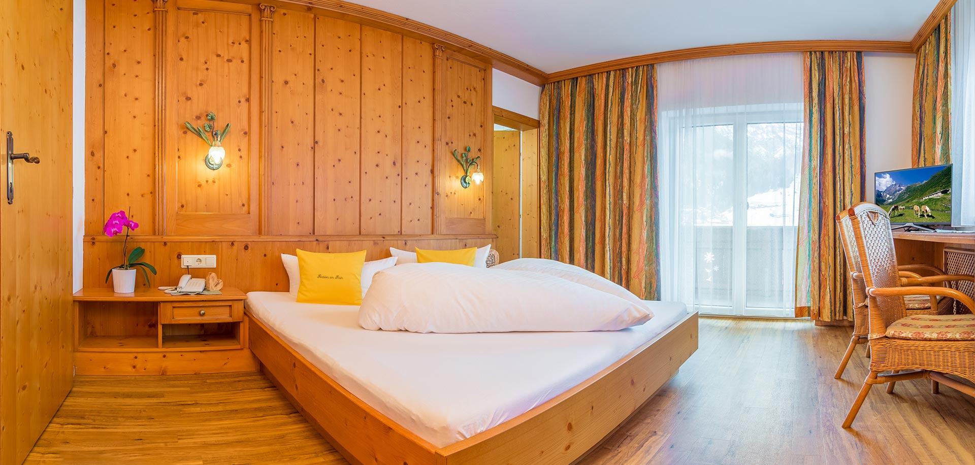 Zimmer - Pension am Rain - Apartments - Zimmer mit Frühstück - Bed and Breakfast - Neustift - Stubaital
